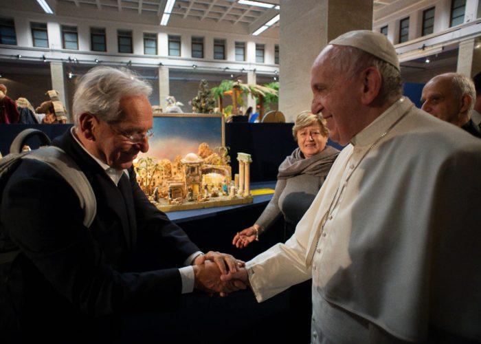 Giancarlo De Canonico 100 Presepi in Vaticano